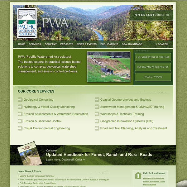 PWA web design